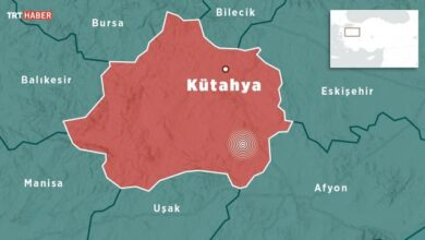 Kütahyada 5 büyüklüğünde deprem