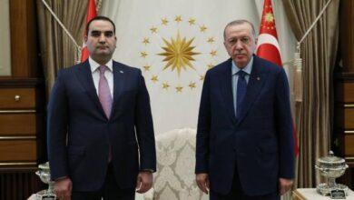 Büyükelçiler Cumhurbaşkanı Erdoğana güven mektubu sundu