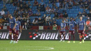 Trabzonspor evinde Romaya yenildi