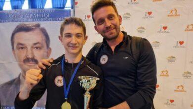 Genç milli eskrimci Yalgın Yeter Ukraynada şampiyon oldu