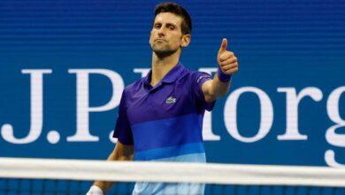 Novak Djokovic ABD Açıkta çeyrek finale yükseldi