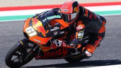 Milli motosikletçi Can Öncü Fransada 8. oldu