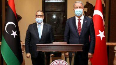 Bakan Akar, Libya Yüksek Devlet Konseyi Başkanı El-Meşri ile görüştü