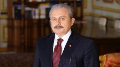 TBMM Başkanı Şentoptan Oğuzhan Asiltürke ziyaret