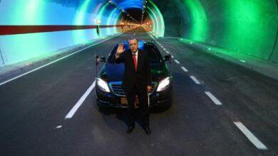 Cumhurbaşkanı Erdoğan: 19 yılda 364 tüneli hizmete açtık