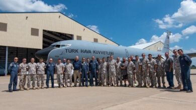Modernizasyonu tamamlanan ilk KC-135R uçağı teslim alındı